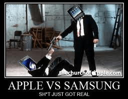 Apple Vs. Samsung Patent War