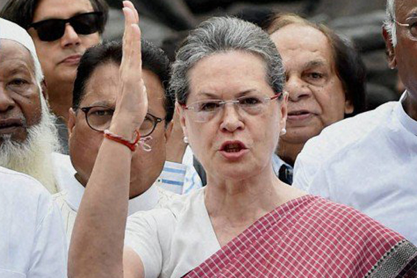 Sonia Gandhi speaks about no-confidence motion