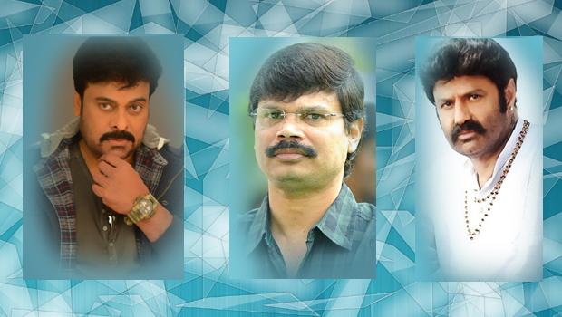 boyapati srinu troubled in between chiranjeevi balakrishna for movie