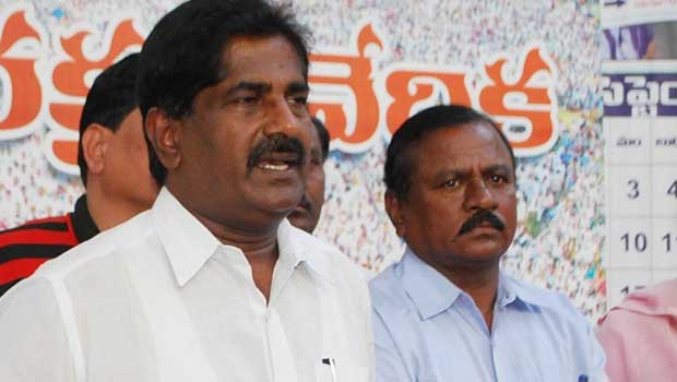 ashok babu seperated from party