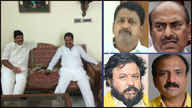 tdp chowdary leaders upset because of not get ministers post thats why reddy's do compromise them