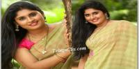 Sonia Chowdary in Saree HD images