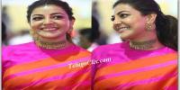 Kajal in Saree HQ Pics