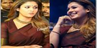 Nayanthara in Saree HD Pics