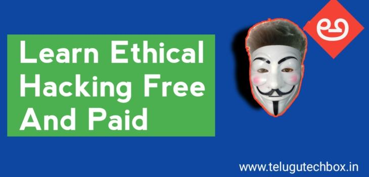 Learn ethical hacking for free telugu