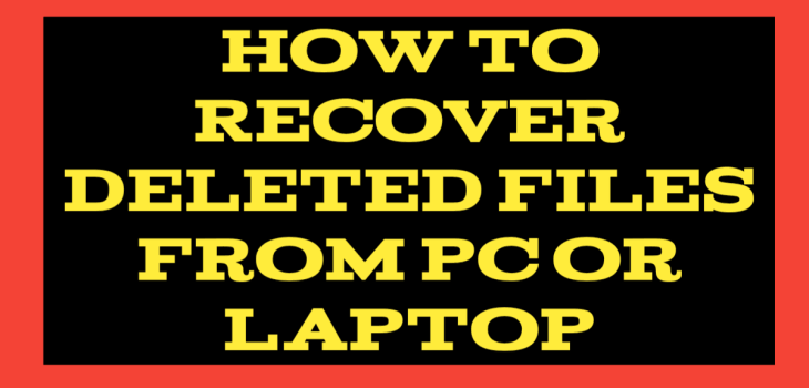 Recover deleted files telugu