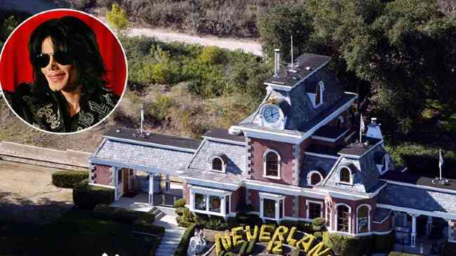 Michael Jackson's Neverland  sold