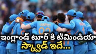 Photo of India tour england 2021 squad: ఇంగ్లాడ్ టెస్ట్ కోసం పోటీ పడబోతున్న ఇండియా స్క్వాడ్ ఇదే…
