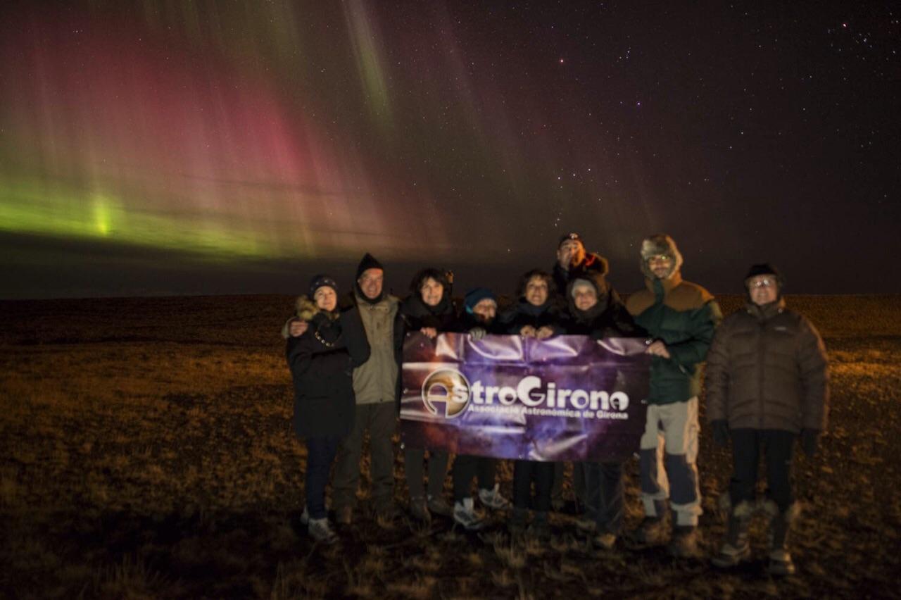 Aurora a Islàndia