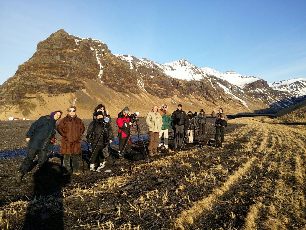 Eclipsi parcial a Islàndia