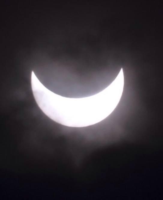 Eclipsi parcial a Gualba