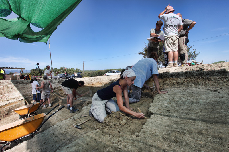 Excavació al Camp dels Ninots