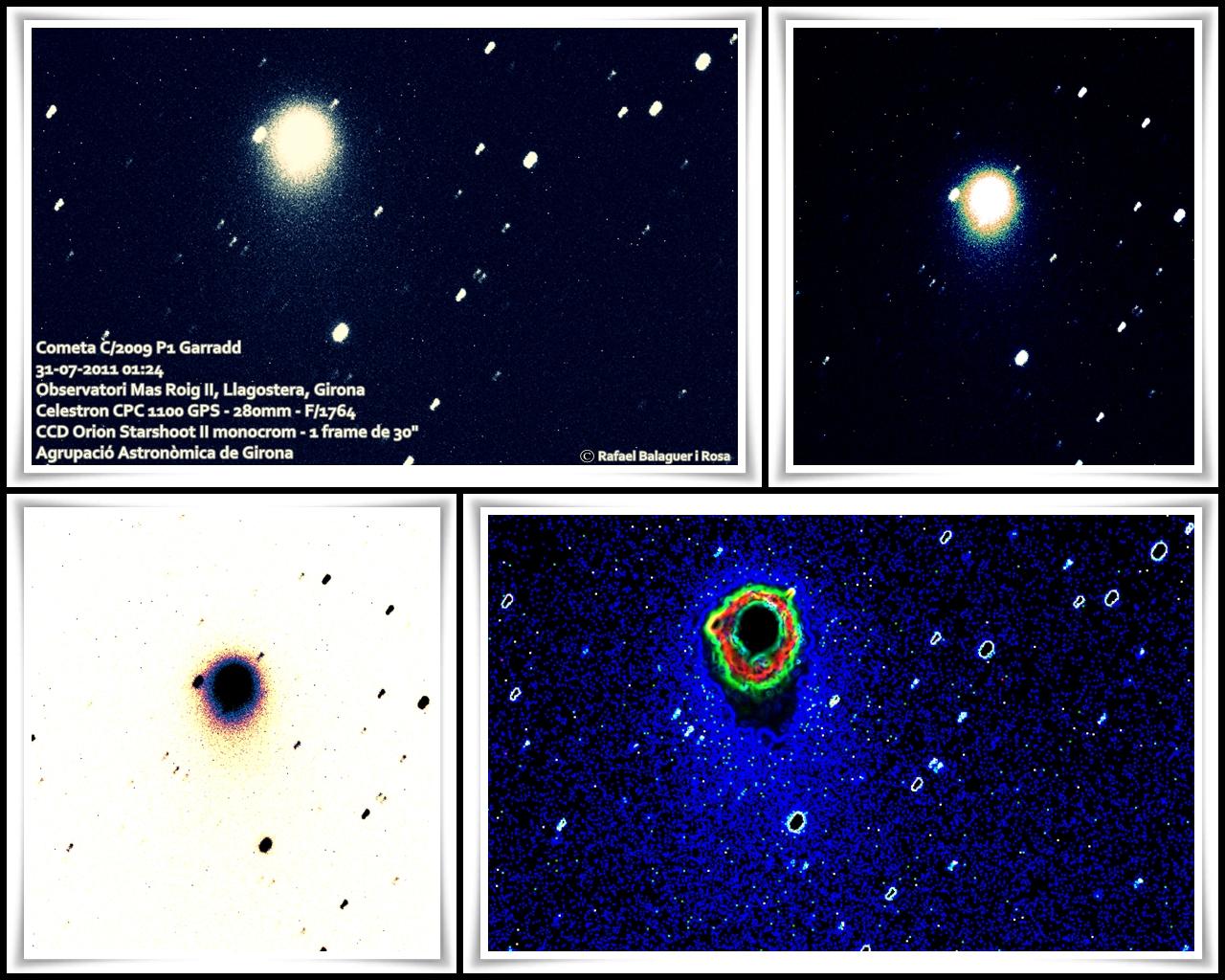Cometa C/2009 P1 Garradd