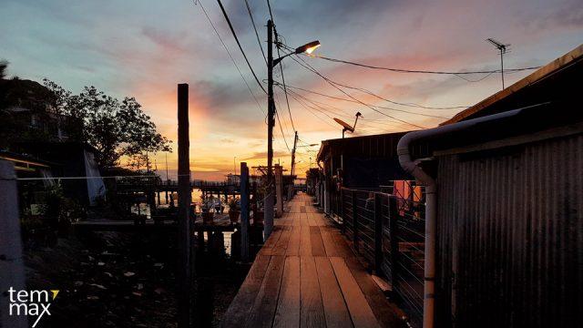 เที่ยวปีนัง ด้วยตัวเอง หมู่บ้านชาวประมง Chew jetty
