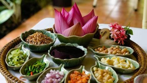 Suanthip ร้านสวนทิพย์ บ้านเจ้าพระยา ร้านอาหารไทย ปากเกร็ด นนทบุรี
