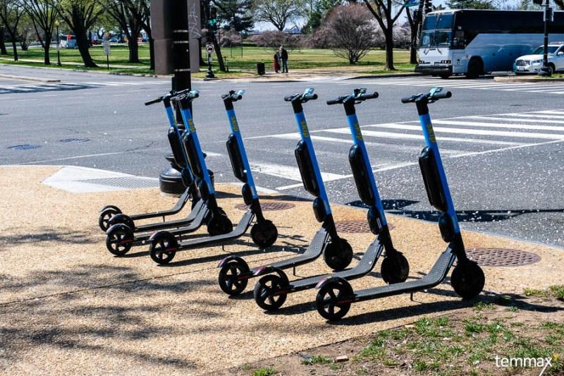 เที่ยว Washington DC ด้วย Scooter ให้เช่าผ่าน Application