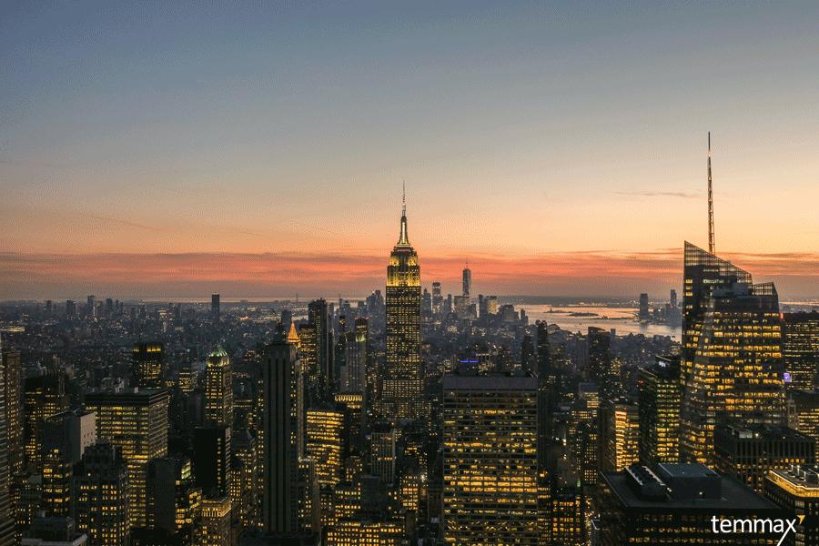 แจก แผนเที่ยวนิวยอร์ก 1 วัน New York - Top of The Rock