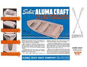 Alumacraft Katalog 1949