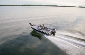 Crestliner Discovery 1650 + Motor + Trailer