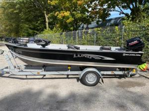 Lund Fury 1600 Tiller