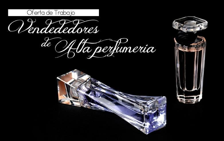 Vendedor Fragancia Alta perfumería