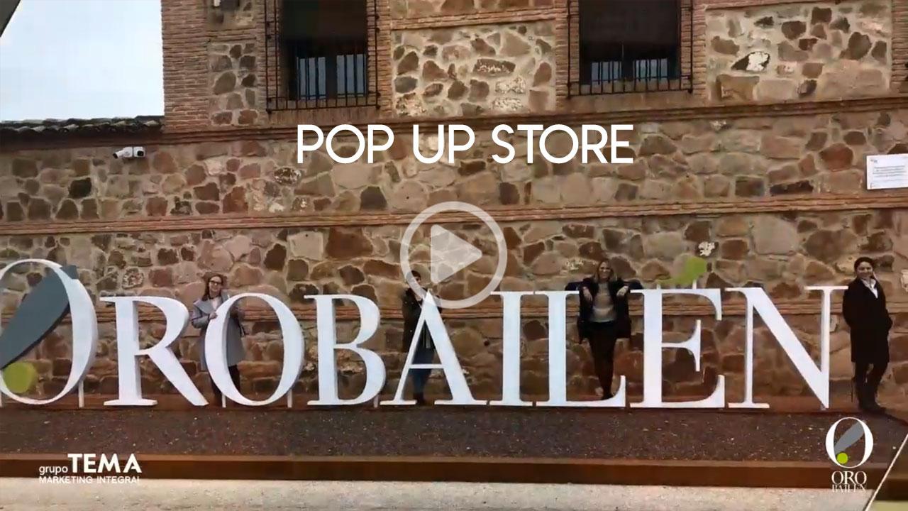 Pop up Store - tienda en la tienda TEMA