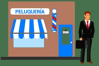 fuerzas de ventas externas peluqueria