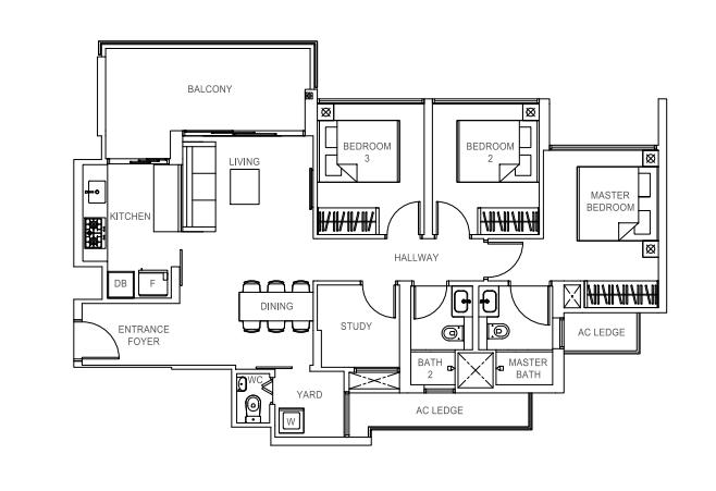 Rivercove_FloorPlan_3bedroom_C4