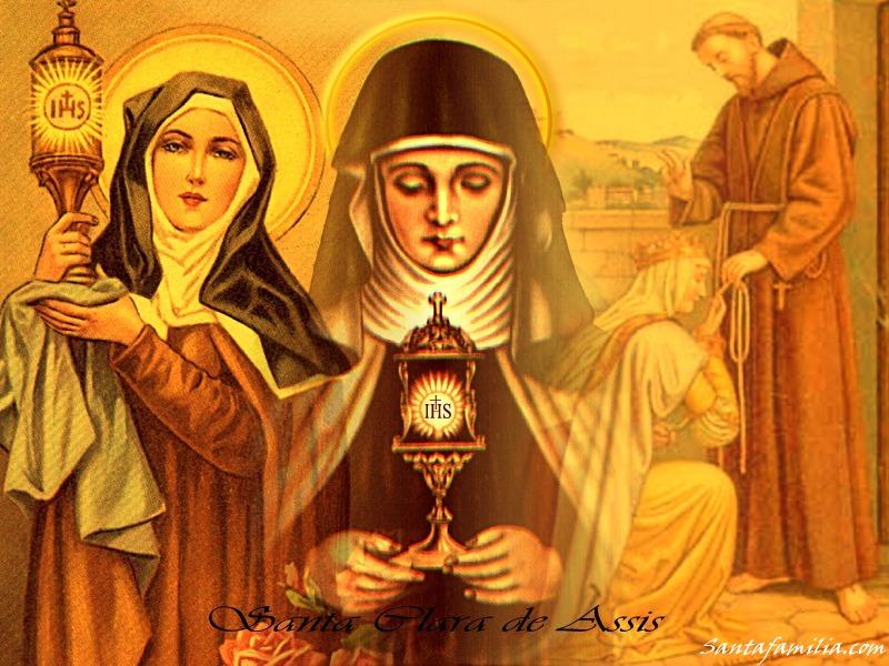 Frases De Santa Clara De Asís Conoce Tu Fe Católica