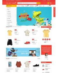 Color E-Ticaret Teması