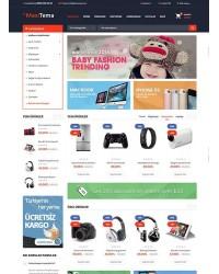 Maxi E-Ticaret Teması
