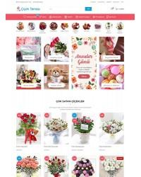 Opencart Çiçekçi Teması