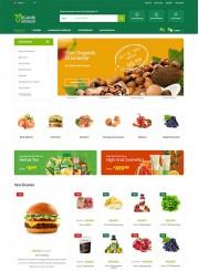 Opencart Organik Ürün / Süpermarket Teması