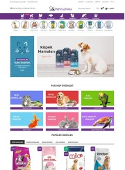 Opencart PetShop Teması