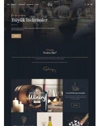 Opencart Restaurant Teması