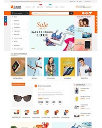 Smart E-Ticaret Teması