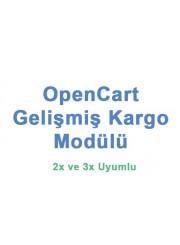Opencart Gelişmiş Kargo Modülü