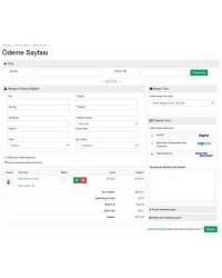 Opencart 2.0 Tek Sayfa Ödeme Modülü