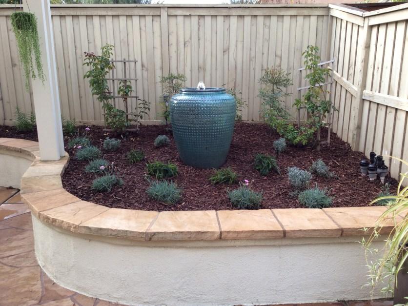 Bubbler pot water fountain in Murrieta McCabe's Landscape Construction