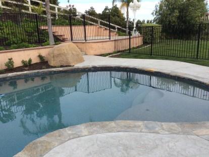 Swimming Pool in La Cresta McCabe's Landscape Construction