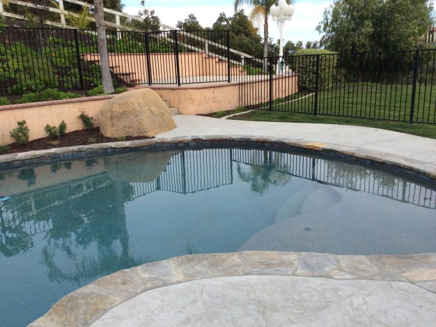 Swimming Pool in La Cresta McCabe's Landscape Construction