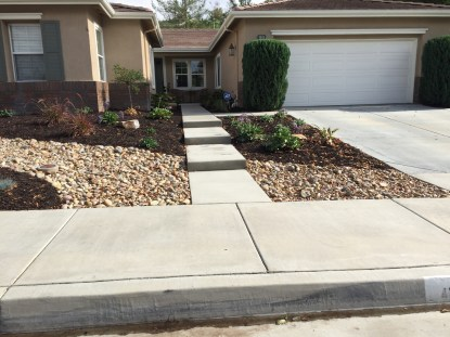 Dry River Stream Bed in Temecula McCabe's Landscape Construction