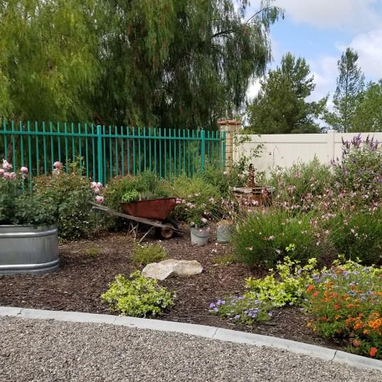 Focal points in a garden
