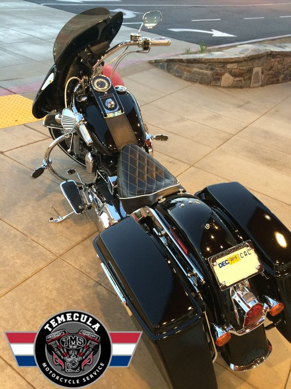 Custom Harley Davidson Flstn Softail Deluxe Jezebel