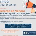 GERENTE DE VENDAS (ATE 29/01/2020) – BELO HORIZONTE/MG