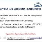 CALDEIREIRO – MACAÉ/RJ