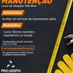 AUXILIAR DE MANUTENÇÃO – TRÊS RIOS/RJ