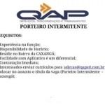 PORTEIRO INTERMITENTE – RECIFE/PE