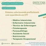 SANTA CASA COM VAGAS TEMPORÁRIAS CONFIRA!!!