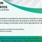 SUPERVISOR DE CONTRATOS – BELO HORIZONTE/MG